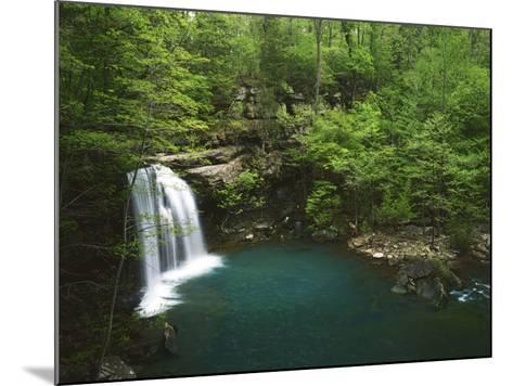 Cascade on Devil's Fork, Ozark-St Francis National Forest, Arkansas, USA-Charles Gurche-Mounted Photographic Print