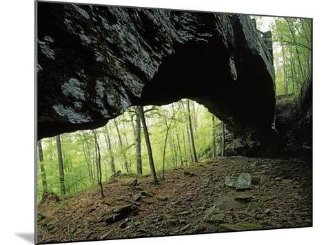 Alum Cove Natural Bridge, Ozark-St Francis National Forest, Arkansas, USA-Charles Gurche-Mounted Photographic Print
