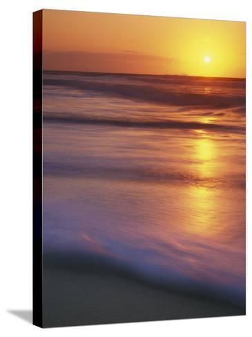 Sunrise, Martha's Vineyard, Massachusetts, USA-Charles Gurche-Stretched Canvas Print