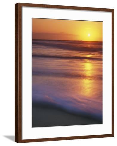 Sunrise, Martha's Vineyard, Massachusetts, USA-Charles Gurche-Framed Art Print