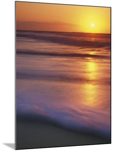 Sunrise, Martha's Vineyard, Massachusetts, USA-Charles Gurche-Mounted Photographic Print