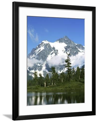 Mt. Shuksan, North Cascades National Park, Washington, USA-Charles Gurche-Framed Art Print