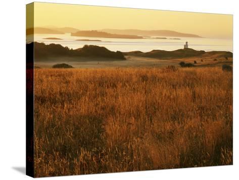 Cattle Point Lighthouse, San Juan Island National Historical Park, Washington, USA-Charles Gurche-Stretched Canvas Print