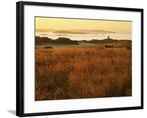 Cattle Point Lighthouse, San Juan Island National Historical Park, Washington, USA-Charles Gurche-Framed Art Print