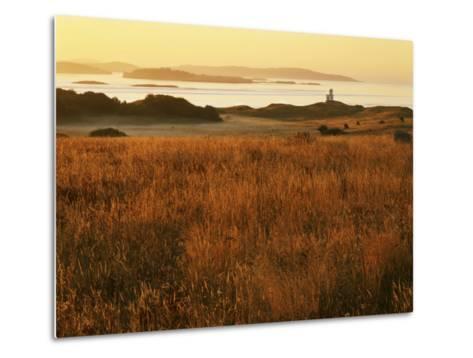 Cattle Point Lighthouse, San Juan Island National Historical Park, Washington, USA-Charles Gurche-Metal Print