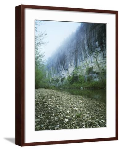 Roark Bluff, Buffalo National River, Arkansas, USA-Charles Gurche-Framed Art Print