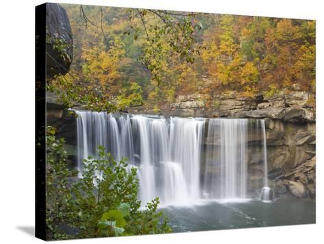 Cumberland Falls State Park near Corbin, Kentucky, USA-Chuck Haney-Stretched Canvas Print