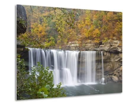 Cumberland Falls State Park near Corbin, Kentucky, USA-Chuck Haney-Metal Print