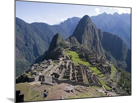 Lost Inca City of Machu Picchu, Intipunku, Peru-Diane Johnson-Mounted Photographic Print