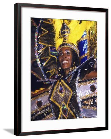 Crop over Carnival, Bridgetown, Barbados, Caribbean-Greg Johnston-Framed Art Print