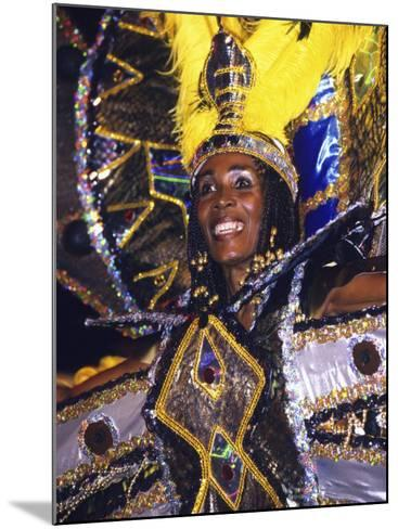 Crop over Carnival, Bridgetown, Barbados, Caribbean-Greg Johnston-Mounted Photographic Print