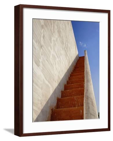 The Jantar Mantar, Jaipur, India-Adam Jones-Framed Art Print