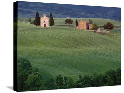 Chapel San Quirico d'Orcia, Tuscany, Italy-Adam Jones-Stretched Canvas Print