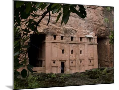 Red Drum, Lalibela, Ethiopia-Alison Jones-Mounted Photographic Print