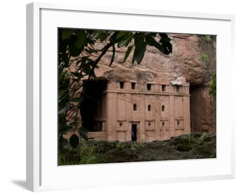 Red Drum, Lalibela, Ethiopia-Alison Jones-Framed Art Print