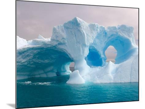 Arched Iceberg, Western Antarctic Peninsula, Antarctica-Steve Kazlowski-Mounted Photographic Print