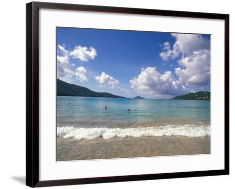 Magens Bay, St. Thomas, Caribbean-Alan Klehr-Framed Art Print