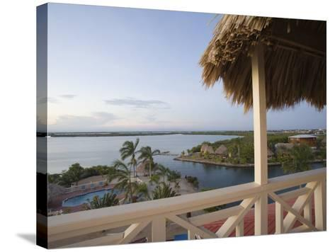 Resort Hotels, Placencia, Stann Creek District, Belize-John & Lisa Merrill-Stretched Canvas Print