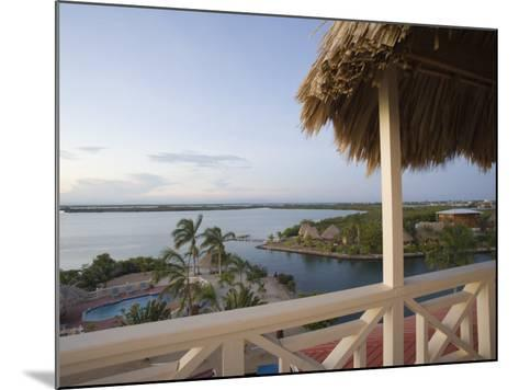Resort Hotels, Placencia, Stann Creek District, Belize-John & Lisa Merrill-Mounted Photographic Print