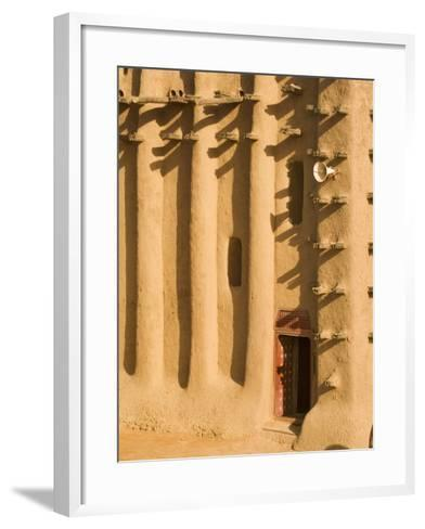 Mosque at Djenne, Mali, West Africa-Janis Miglavs-Framed Art Print