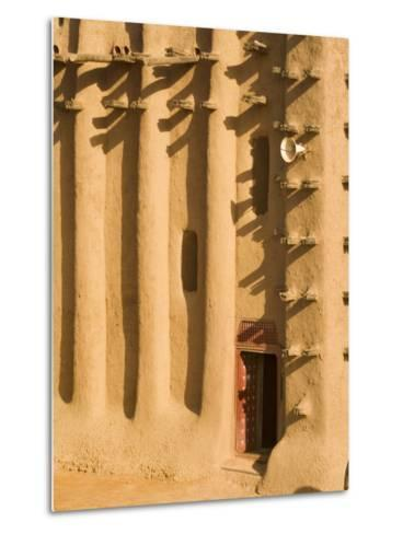 Mosque at Djenne, Mali, West Africa-Janis Miglavs-Metal Print