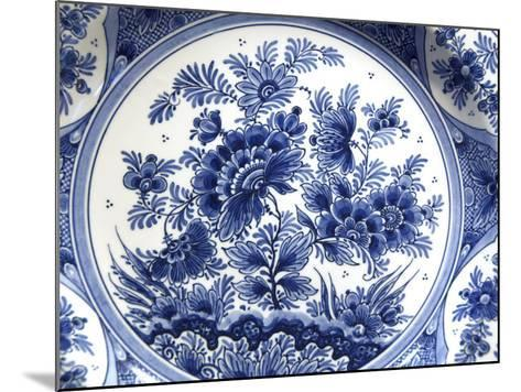 Royal Delft Factory, Delft, Netherlands-Cindy Miller Hopkins-Mounted Photographic Print
