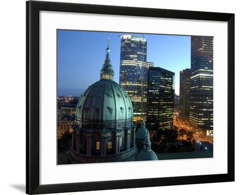 Mary Queen of The World Cathedral, Montreal, Quebec, Canada-Cindy Miller Hopkins-Framed Art Print