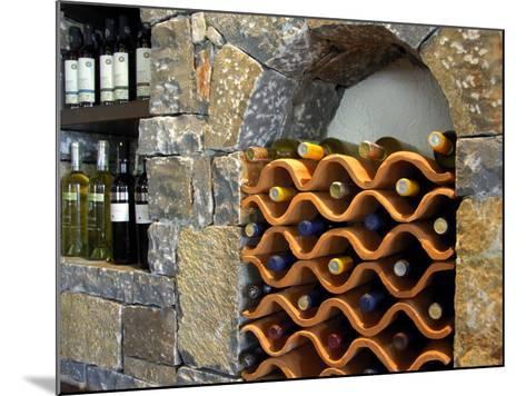 Local Wine, Crete, Lassithi Plateau, Greece-Cindy Miller Hopkins-Mounted Photographic Print