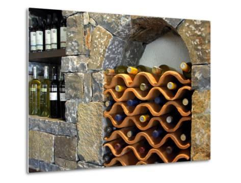 Local Wine, Crete, Lassithi Plateau, Greece-Cindy Miller Hopkins-Metal Print