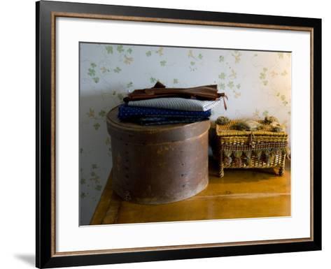 Sewing Box, Anne of Green Gables Home, Prince Edward Island, Canada-Cindy Miller Hopkins-Framed Art Print