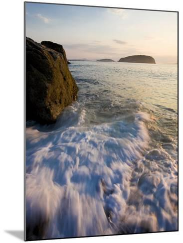 Early morning surf in Frenchman Bay, Acadia National Park, Maine, USA-Jerry & Marcy Monkman-Mounted Photographic Print