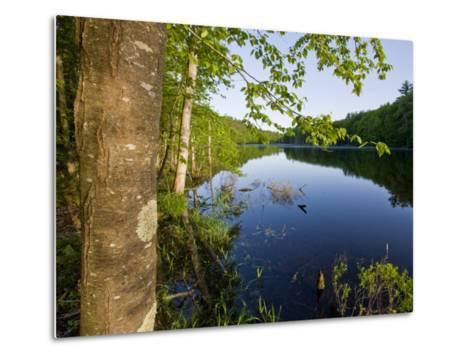 Boulter Pond at Highland Farm, York, Maine-Jerry & Marcy Monkman-Metal Print