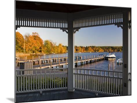 View of Lake Winnipesauke, Wolfeboro, New Hampshire, USA-Jerry & Marcy Monkman-Mounted Photographic Print