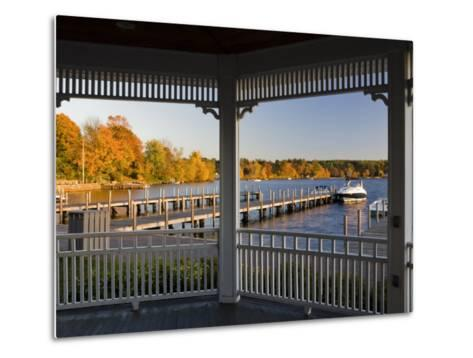 View of Lake Winnipesauke, Wolfeboro, New Hampshire, USA-Jerry & Marcy Monkman-Metal Print