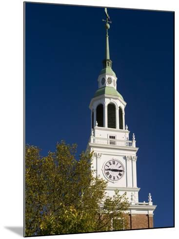 Baker Hall on the Dartmouth College Green in Hanover, New Hampshire, USA-Jerry & Marcy Monkman-Mounted Photographic Print