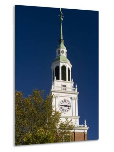 Baker Hall on the Dartmouth College Green in Hanover, New Hampshire, USA-Jerry & Marcy Monkman-Metal Print