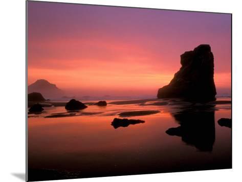 Oregon Coast at Sunset, USA-Marilyn Parver-Mounted Photographic Print