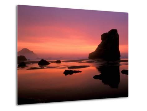 Oregon Coast at Sunset, USA-Marilyn Parver-Metal Print