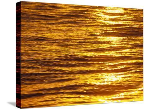 Ocean Sunset-Douglas Peebles-Stretched Canvas Print