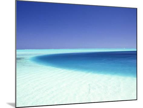 Ocean, Bora Bora, French Polynesia-Douglas Peebles-Mounted Photographic Print