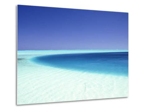 Ocean, Bora Bora, French Polynesia-Douglas Peebles-Metal Print