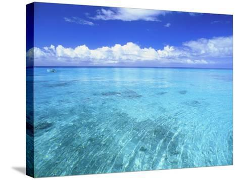 Ocean & Clouds-Douglas Peebles-Stretched Canvas Print