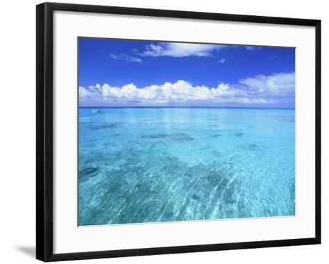 Ocean & Clouds-Douglas Peebles-Framed Art Print