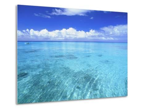 Ocean & Clouds-Douglas Peebles-Metal Print