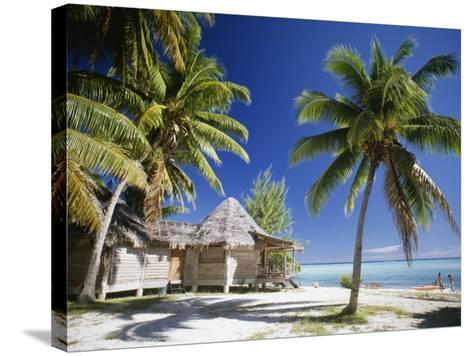 Tetiaroa, French Polynesia-Douglas Peebles-Stretched Canvas Print