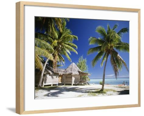 Tetiaroa, French Polynesia-Douglas Peebles-Framed Art Print