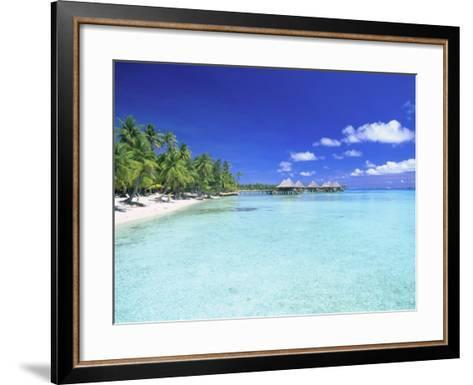Kia Ora Village, Rangiroa, French Polynesia-Douglas Peebles-Framed Art Print