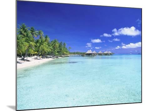 Kia Ora Village, Rangiroa, French Polynesia-Douglas Peebles-Mounted Photographic Print