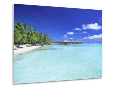 Kia Ora Village, Rangiroa, French Polynesia-Douglas Peebles-Metal Print