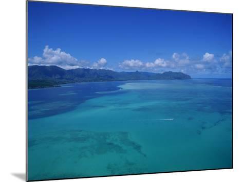 Kaneohe Bay, Kaneohe, Oahu, Hawaii, USA-Douglas Peebles-Mounted Photographic Print